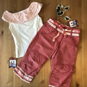 Jottum NWT Nellineke top and Daisy pants set